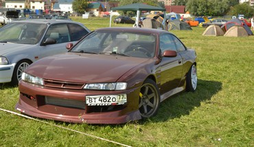 Cars jdm nissan silvia s14 HD wallpaper