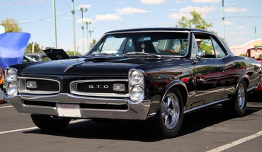 Cars pontiac gto widescreen HD wallpaper