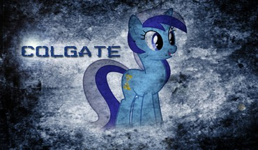 Ponies my little pony: friendship is magic colgate HD wallpaper