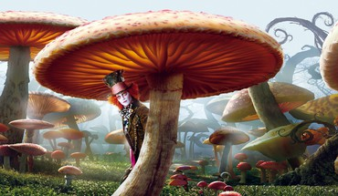 Alice im Wunder johnny depp Mad Hatter  HD wallpaper