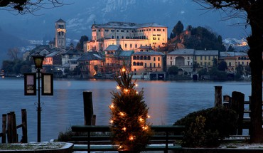 Christmas italy HD wallpaper