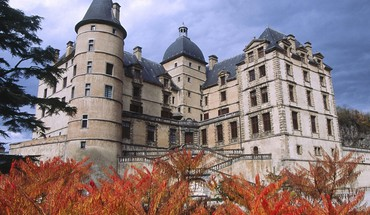 Castles france buildings cities chateau HD wallpaper