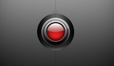 Red eye orb HD wallpaper