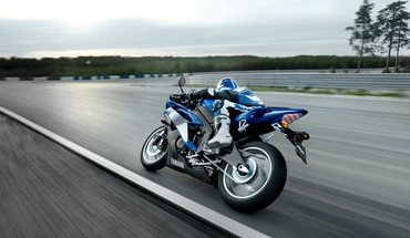 Yamaha R6 floue motos routes  HD wallpaper