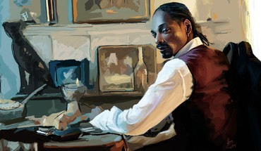 American calvin broadus snoop dogg artwork black people HD wallpaper