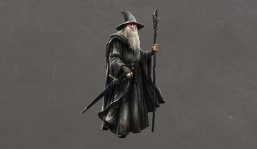 Hobbit concept art simple background gandalf grey HD wallpaper