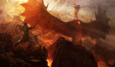 Dragons dogma artwork fantasy art medieval HD wallpaper