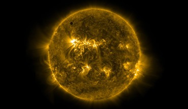 Sun venus HD wallpaper