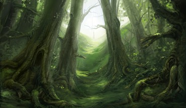 Fable artwork forests video games HD wallpaper
