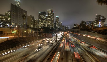 Los Angeles Autobahnen Widescreen  HD wallpaper