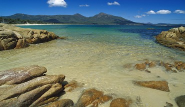 Landscapes beach tasmania australia promise national park bay HD wallpaper