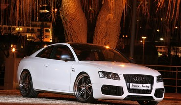 Voitures audi tuning blanc s5  HD wallpaper