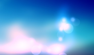 Blurred blue background HD wallpaper
