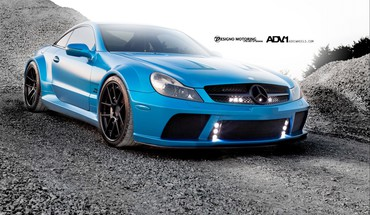 Mercedes Benz SL65 AMG ADV 1 super  HD wallpaper