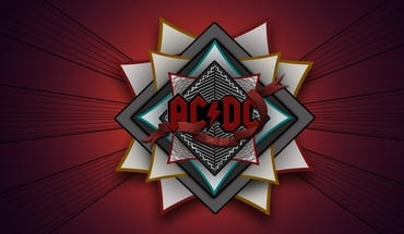 AC / DC Rock-Band Digital Art hart Logos  HD wallpaper
