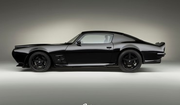 Pontiac firebird 1970 customized muscle car garage HD wallpaper