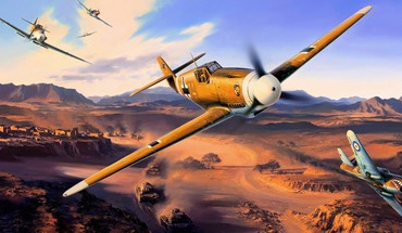 Luftwaffe airplanes HD wallpaper