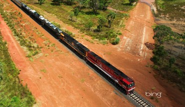 Bing the ghan landscapes trains HD wallpaper