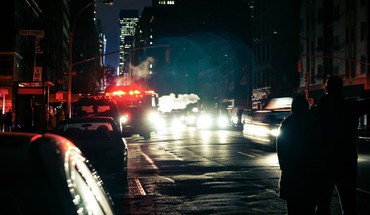 Light cityscapes night cars urban cities hurricane sandy HD wallpaper