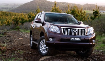 Cars toyota prado auto HD wallpaper