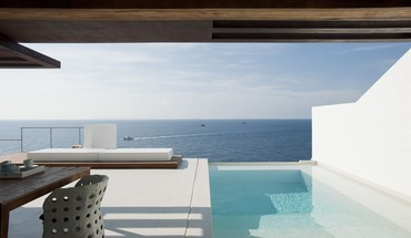 Swimming pools ibiza villa dos HD wallpaper
