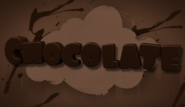 Text chocolate mangotangofox HD wallpaper