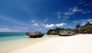 Beach okinawa HD wallpaper