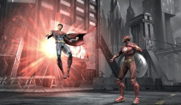 Superman flash comic hero HD wallpaper