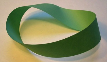Green mathematics mobius strip HD wallpaper