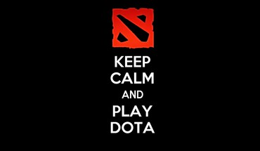 Dota keep calm HD wallpaper