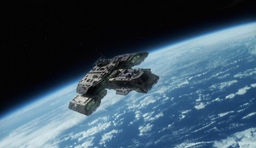 Planets earth stargate atlantis top view shows HD wallpaper