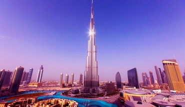 Burj khalifa incredible view HD wallpaper