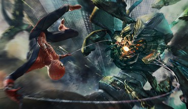 Marvel comics the amazing spider-man cities HD wallpaper