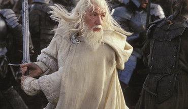 Ian mckellen lord of rings return king HD wallpaper