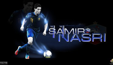 De France de football l'équipe nationale samir joueurs Nasri  HD wallpaper
