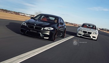 Bmw 5 series m5 m g power HD wallpaper