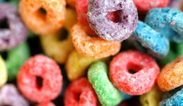 Fruit loops candies cereal HD wallpaper