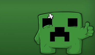 Minecraft super meat boy creeper minimalistic video games HD wallpaper
