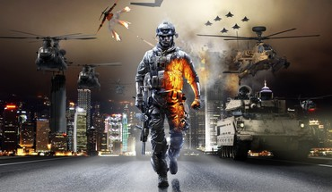 Battlefield 3 battles cover eotech HD wallpaper