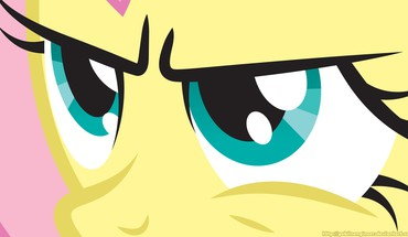 Close-up fluttershy my little pony: friendship is magic HD wallpaper