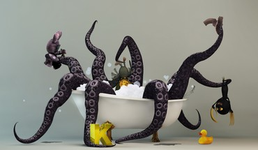 Kraken monstras  HD wallpaper
