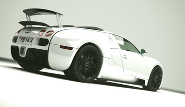 Bugatti veyron cars sports white HD wallpaper