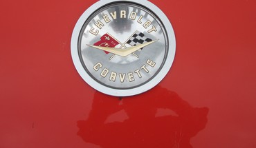 Chevrolet corvette logo HD wallpaper