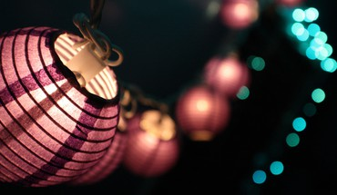 China closeup lamps lanterns macro HD wallpaper