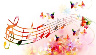 Melody of butterfly wings HD wallpaper