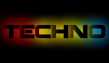 Techno text HD wallpaper