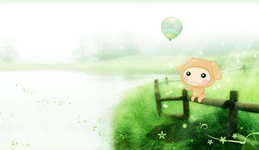 Cute lil cartoon HD wallpaper