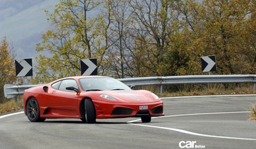 Ferrari f430 cars drifting HD wallpaper