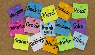 Thank you in many languages HD wallpaper