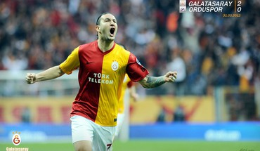 équipes Necati Ateş de football de Galatasaray  HD wallpaper
